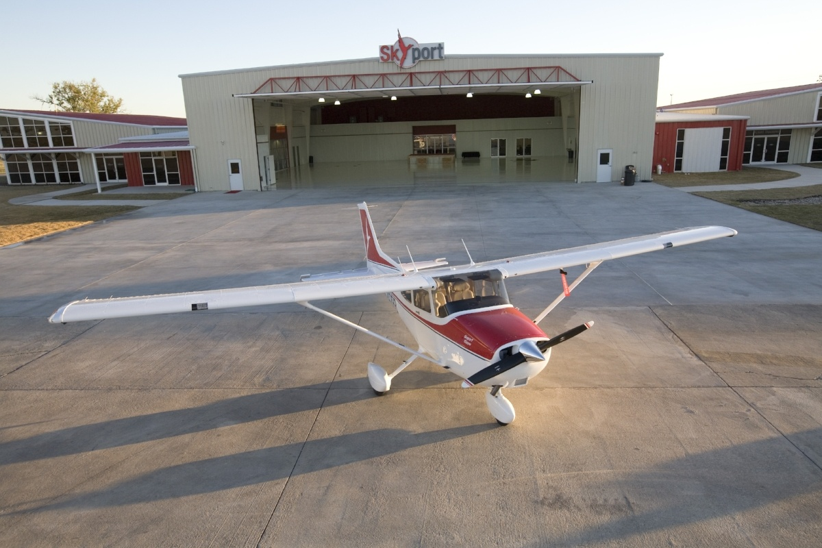 Redbird Skyport Hangar
